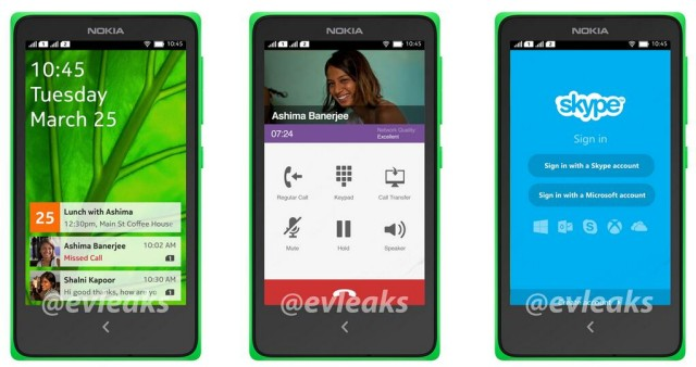 nokia normandy android interface