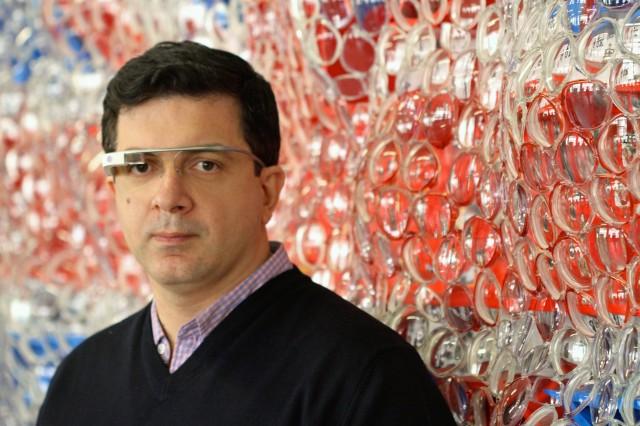 David Datuna Google Glass