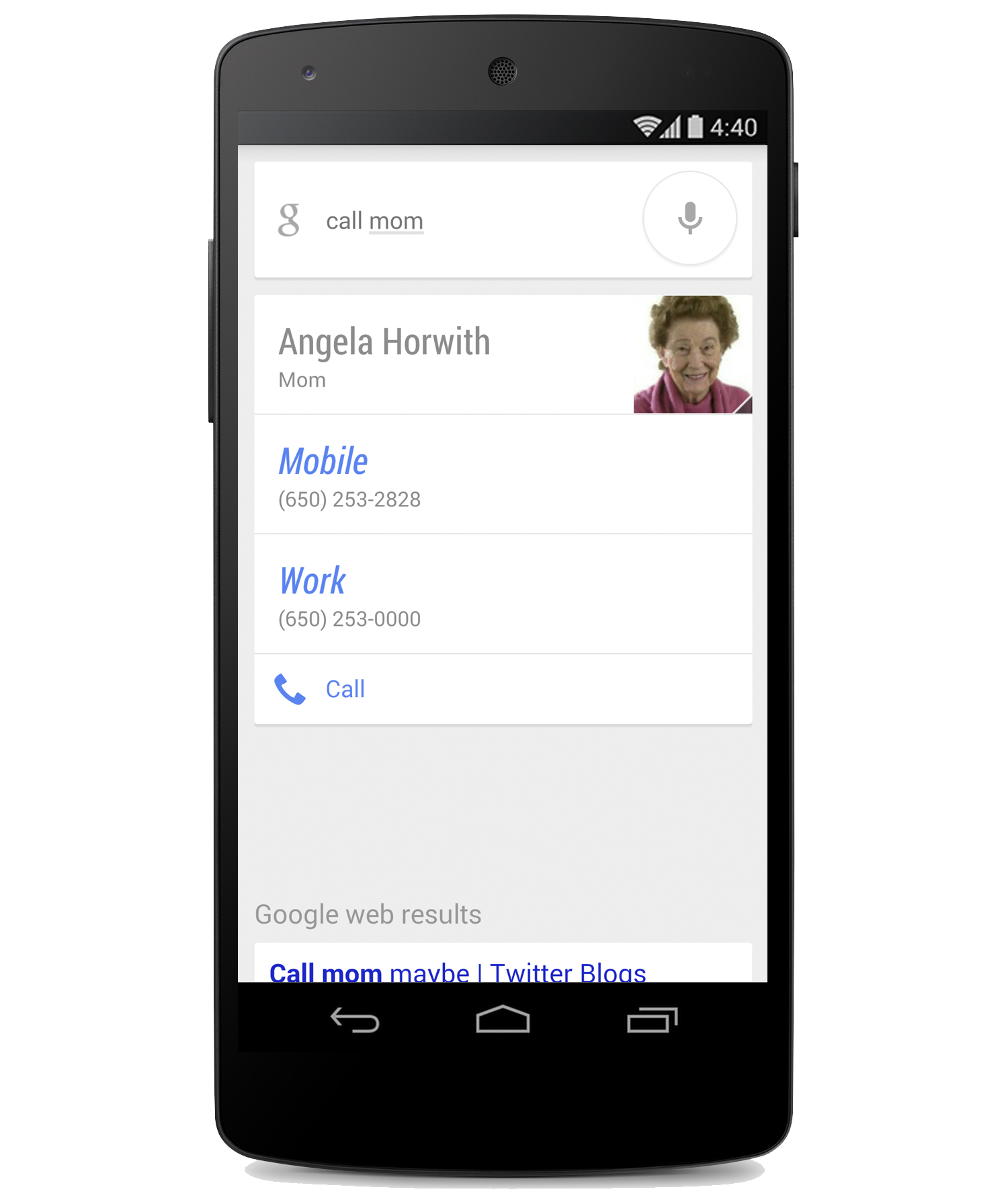 Google Search: Google Search Update Allows You To Call Or Text Family