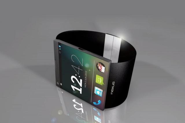 Konsep Google Smartwatch