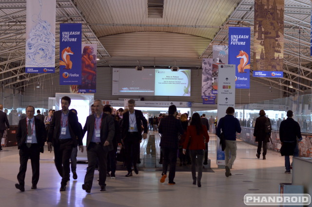 Mobile World Congress 2014 people