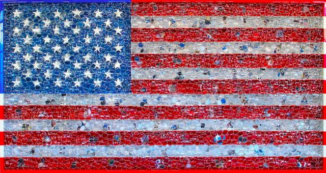 Google Glass American Flag