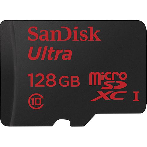 sandisk 128gb microsd card annonced. Black Bedroom Furniture Sets. Home Design Ideas