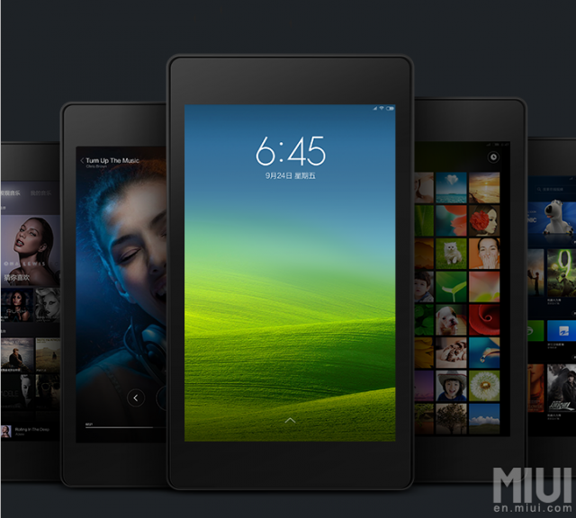 MIUI for tablets 2