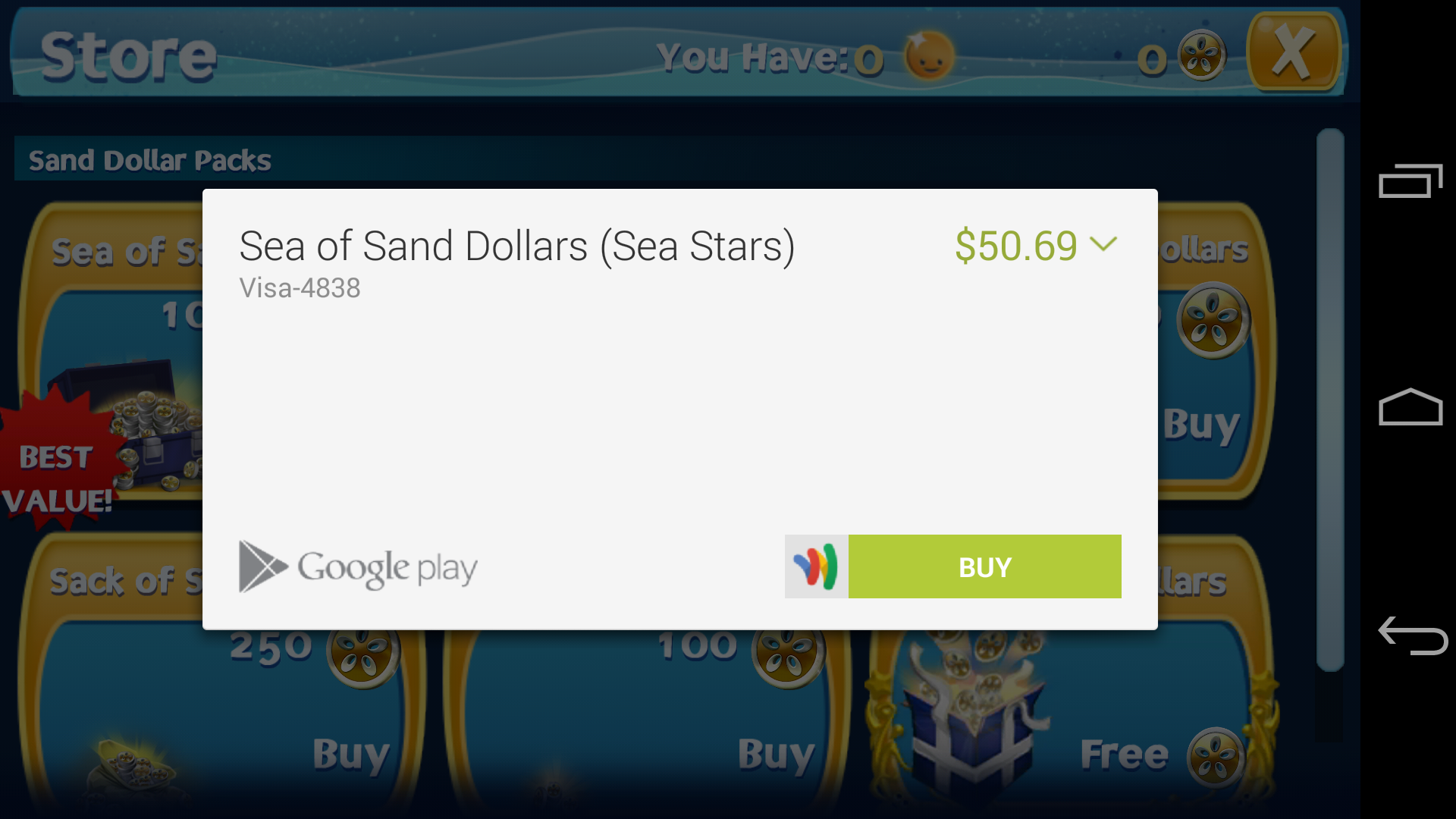 Google issuing refunds for unauthorized in-app purchases