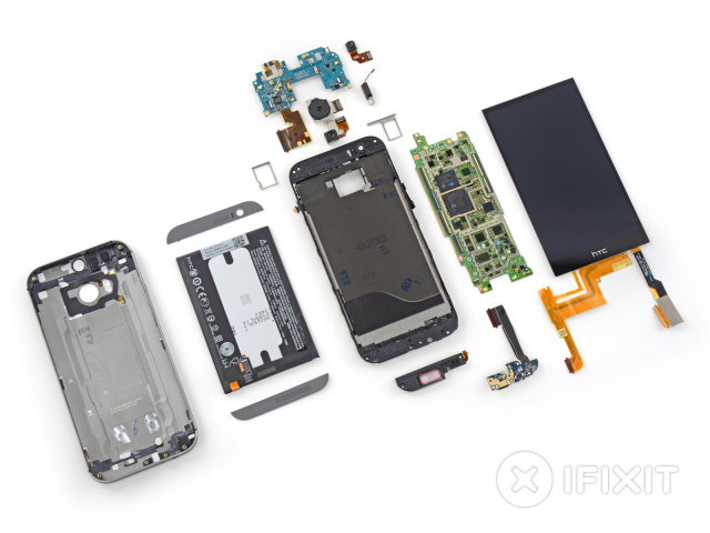 htc one m8 teardown