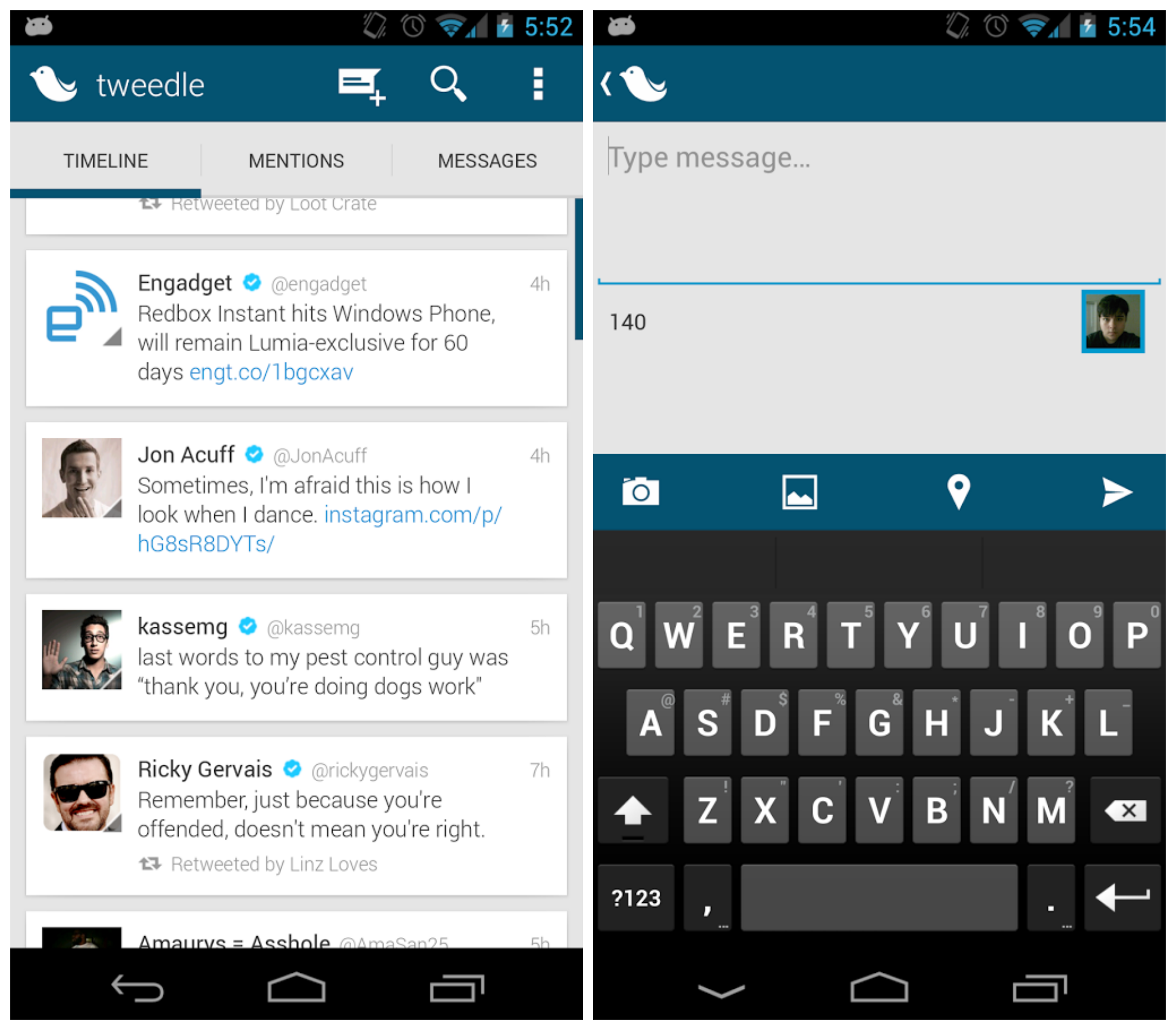 Top 11 Twitter Apps For Android 2014