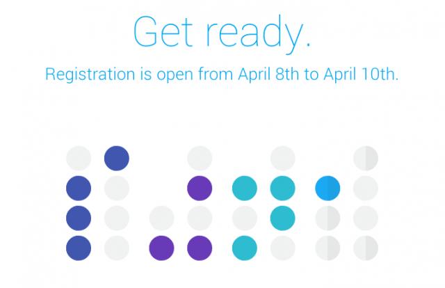 Google IO 2014 registration