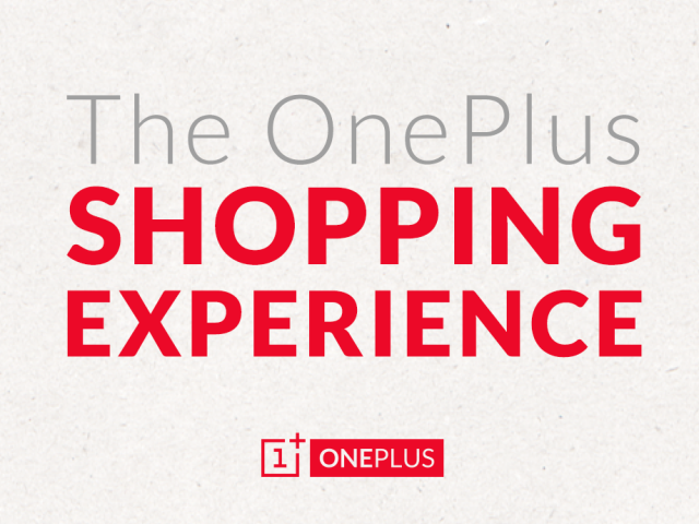 OnePlus shopping experience details