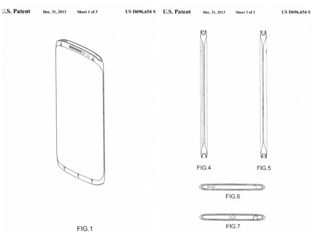 Samsung Galaxy Note 4 patent