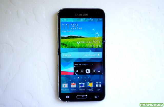 Samsung Galaxy S5 water DSC05781