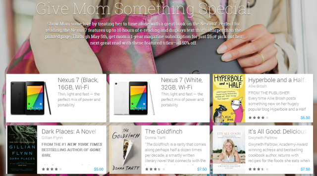 google play mothers day