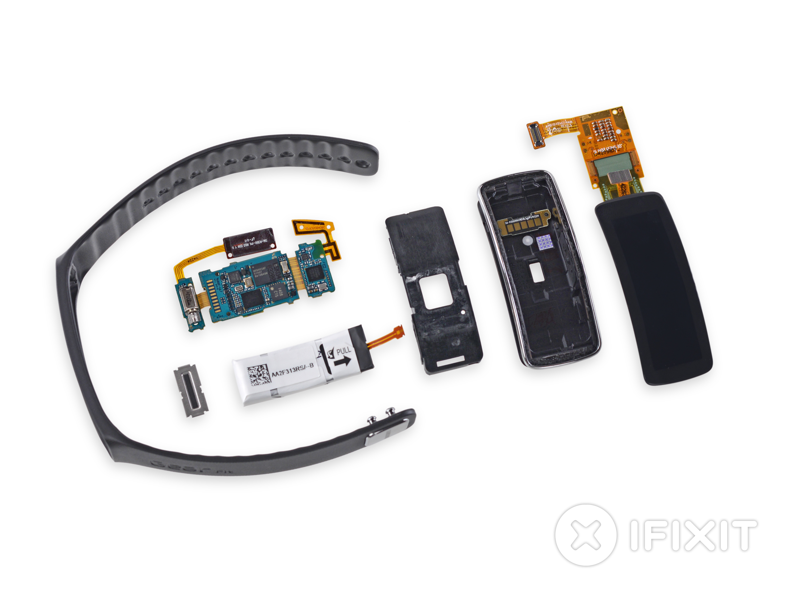 Samsung Gear Fit Teardown Shows Easy Battery Replacement