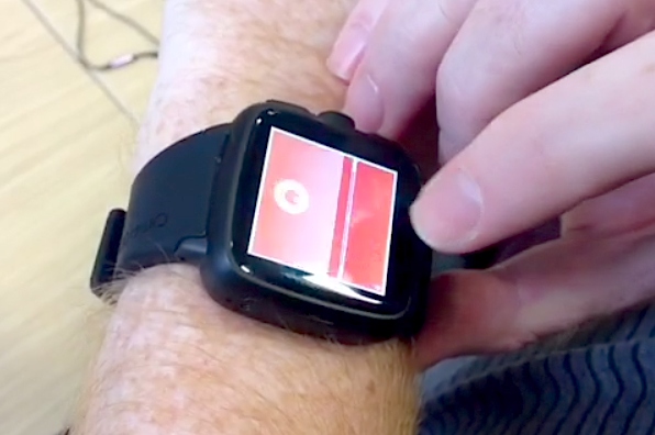 Android games Puk on smartwatch