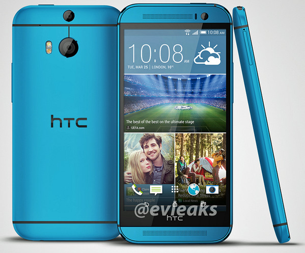 Blue HTC One M8