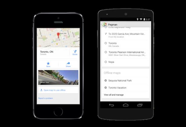 Google Maps 8.0 Offline Maps