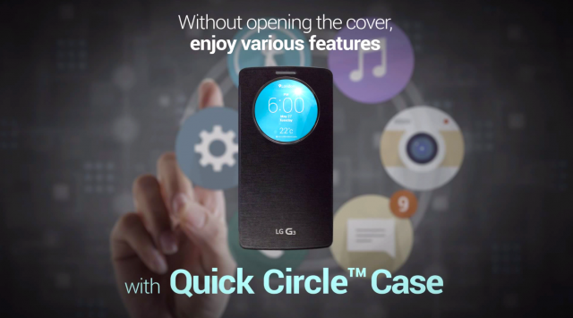 LG G3 Quick Circle cover case