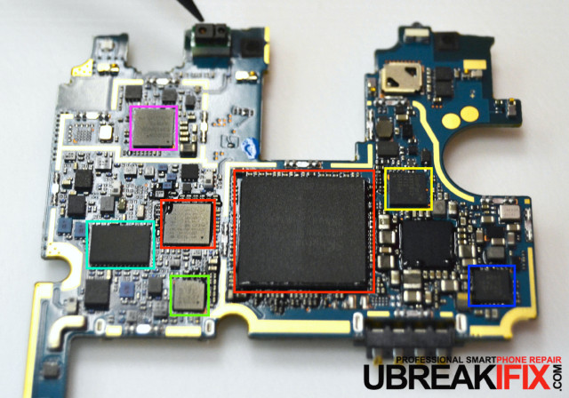 LG G3 motherboard teardown