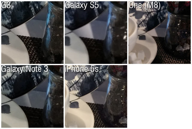 LG G3 vs Galaxy S5 Note 3 One M8 iPhone 5s 2