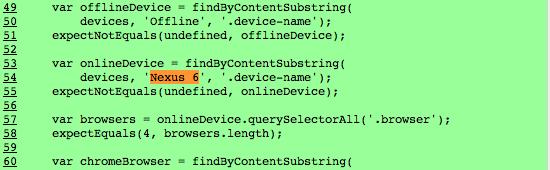 Nexus 6 Chromium code
