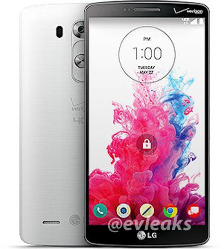 Verizon LG G2 evleaks