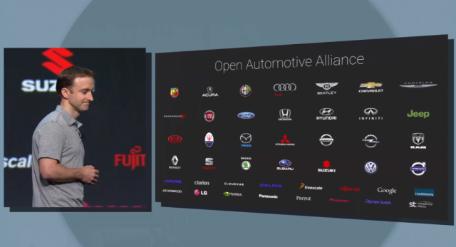 Android Auto Open Automotive Alliance