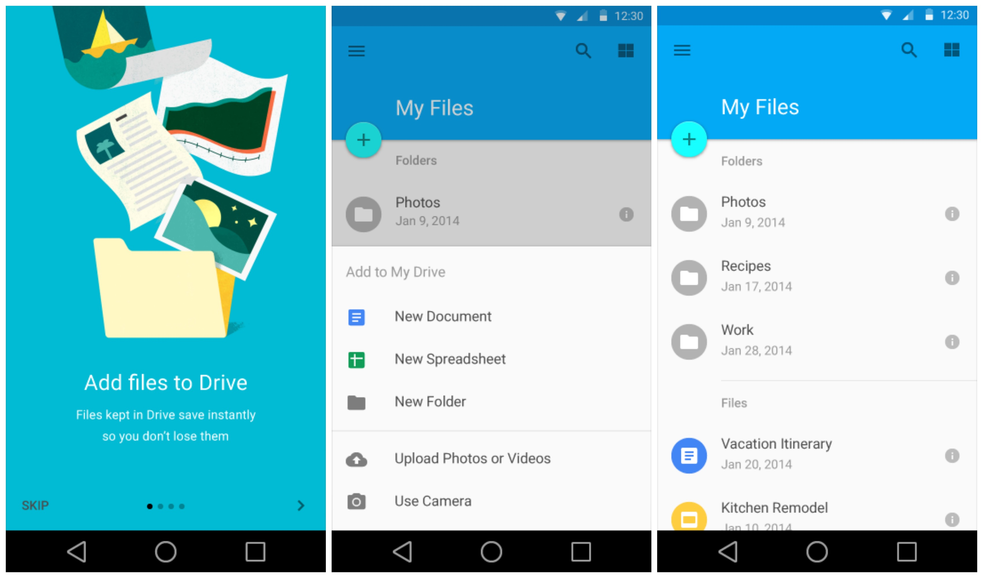 Sneak peek at Android L's redesigned Settings, Gmail ...