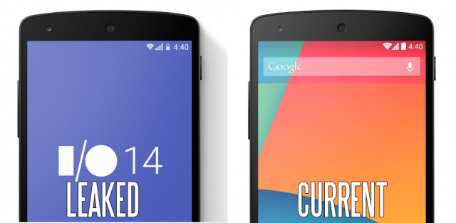 Android status bar alleged leak and current