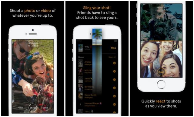 Ecco Slingshot, lo Snapchat di Facebook che arriverà presto per tutti