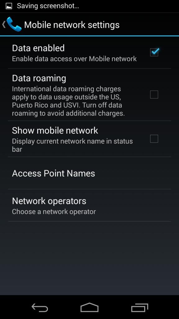 Moto X Plus 1 screenshot