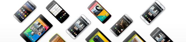 Nexus Google Play devices