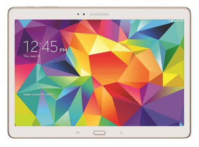 Samsung Galaxy Tab S white