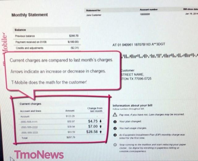 T-Mobile Simplified Billing 2