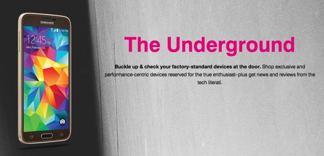 T-Mobile Underground banner