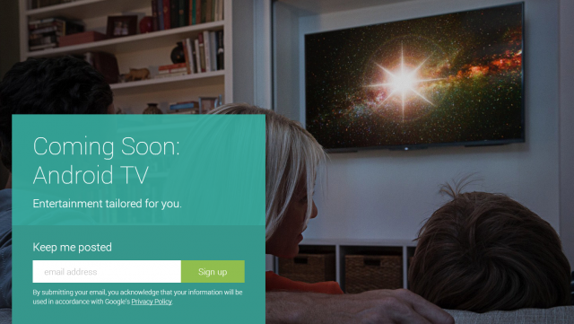 android tv signup