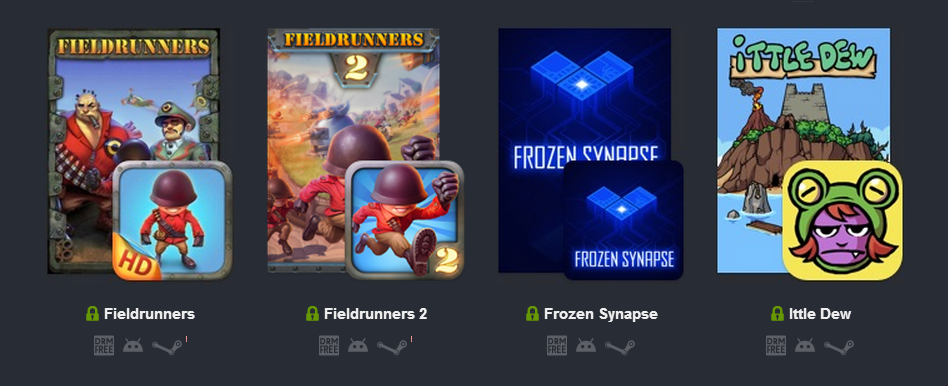 Fieldrunners, Frozen Synapse And Ittle Dew Added To Humble