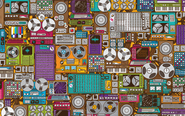 retro-music-devices-pattern