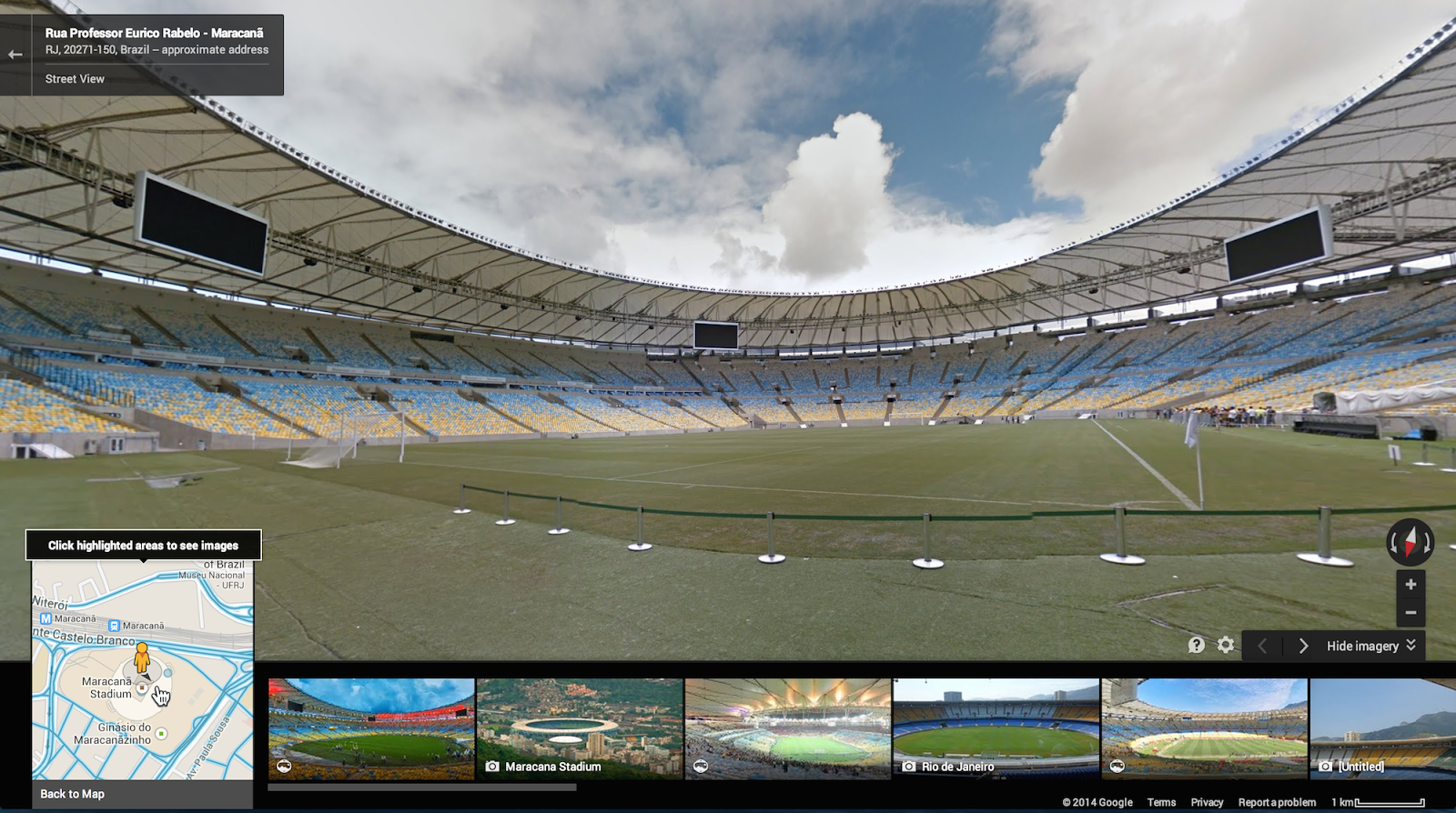 2014 fifa world cup brazil comes to google maps street view world cup brazil street view 1 gumiabroncs Images