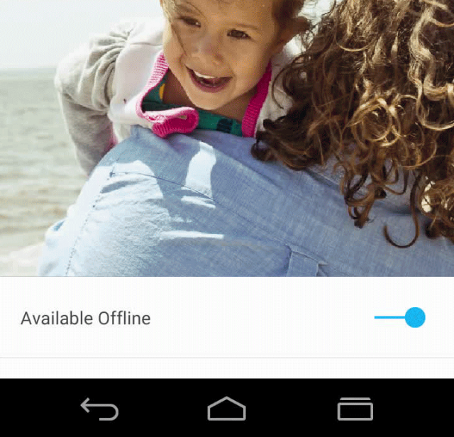 Google Design Nav buttons Android L