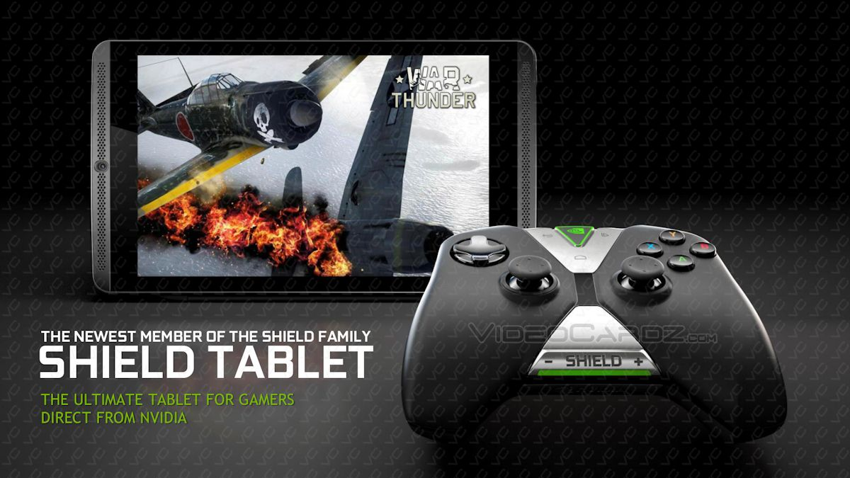 NVIDIA SHIELD Tablet and controller specs, pricing, and ...