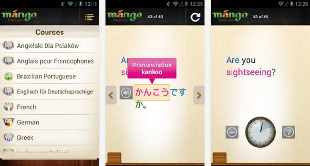 Best Android Apps For Learning Spanish Japanese And