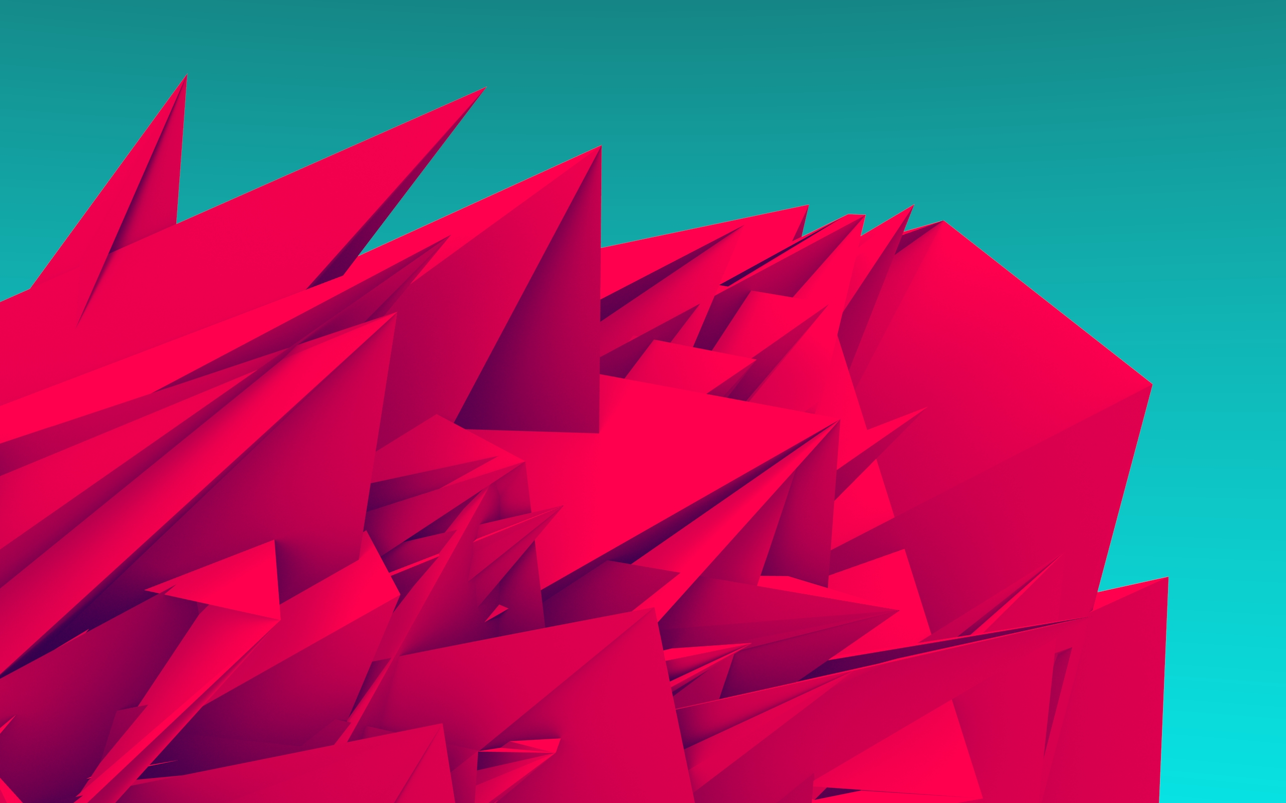 Android Wallpaper Low Poly Art