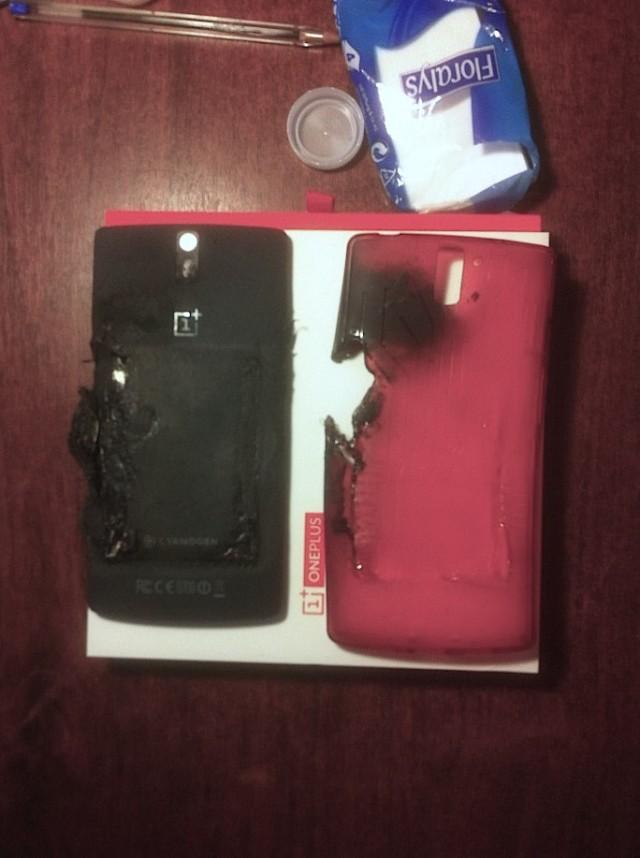 Exploding OnePlus One 1