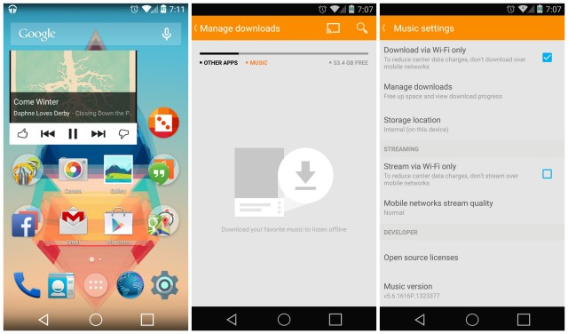 Google Play Music 5.6.1616 update