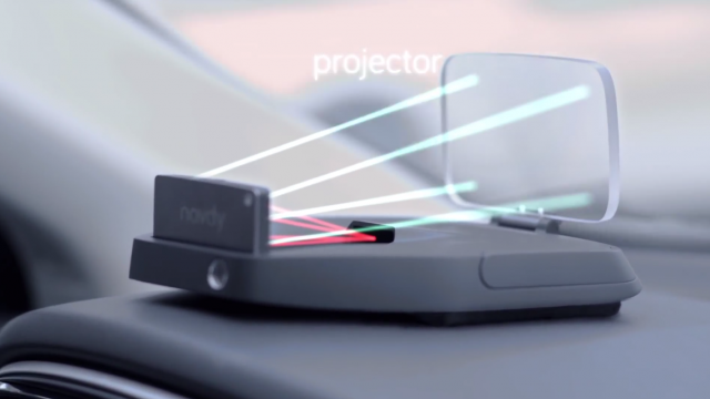 Navdy Screenshot projector