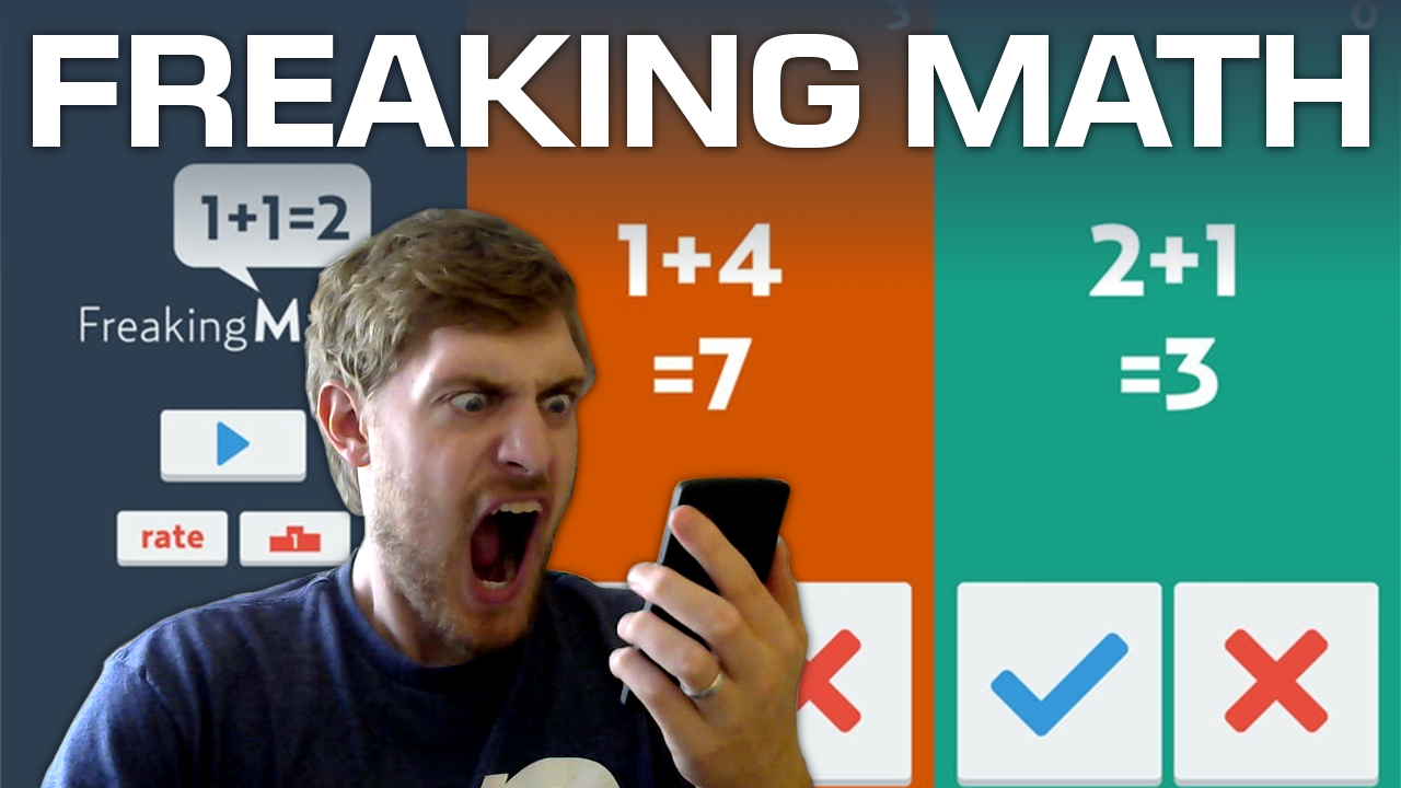 Kids Learning Tablet >> 'Freaking Math' is a game so easy it will drive you insane