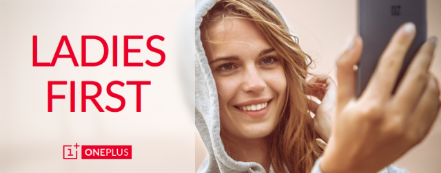 oneplus one ladies first contest