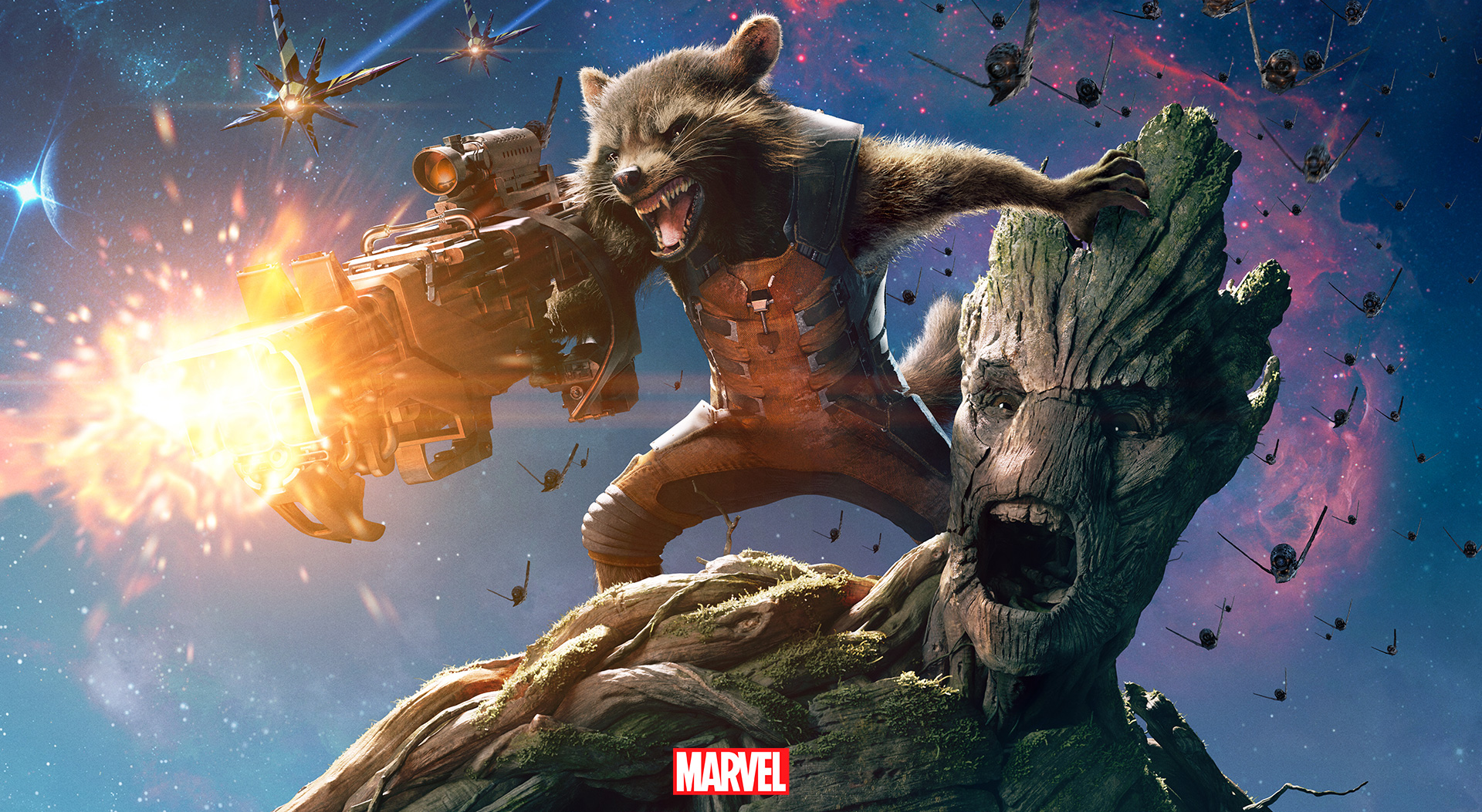 Android Wallpaper: Guardians Of The Galaxy