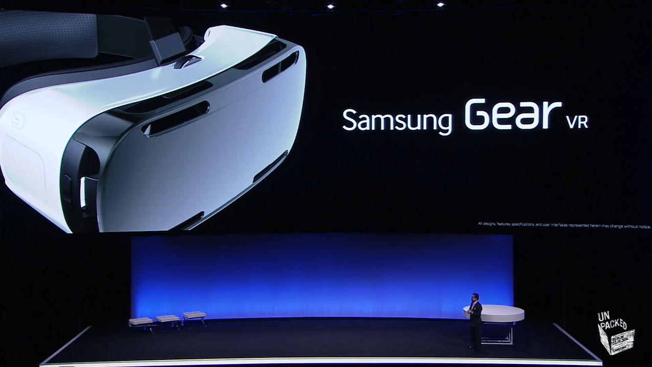 samsung gear vr wearable officially unveiled at ifa berlin. Black Bedroom Furniture Sets. Home Design Ideas