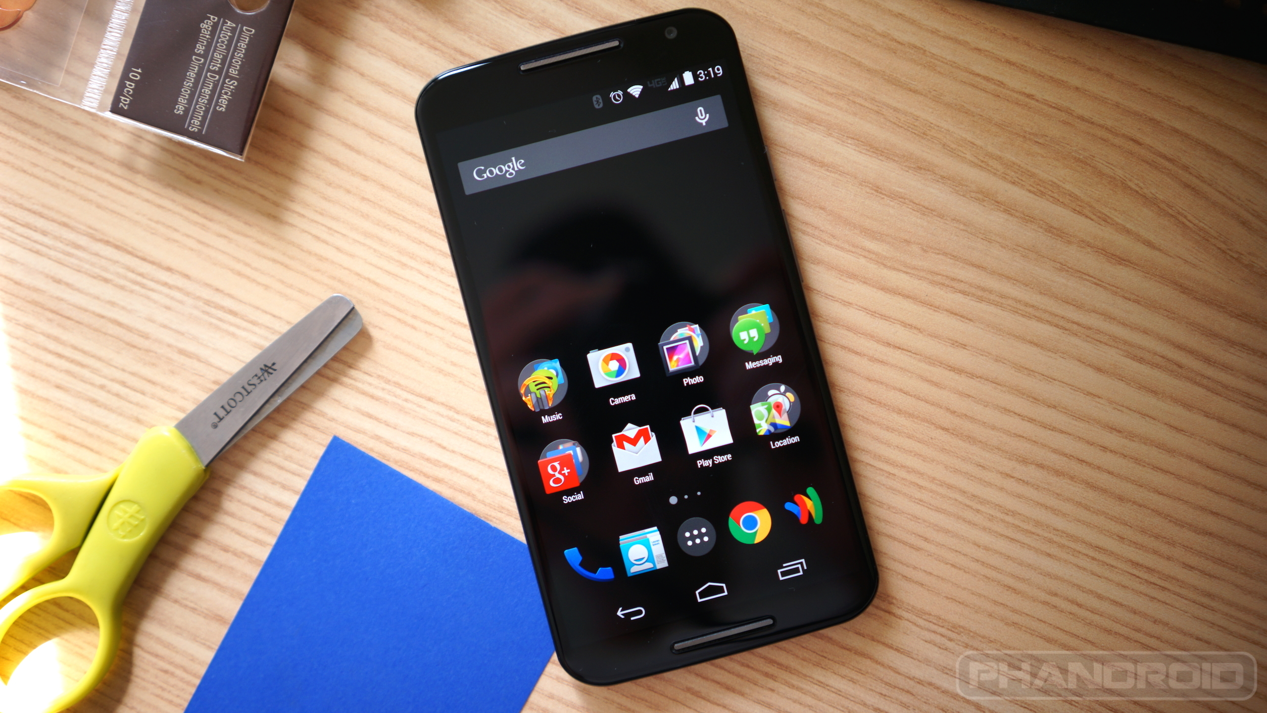 how to change theme in moto g3